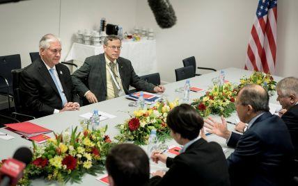 Тиллерсон и Лавров не обсуждали санкции против РФ из-за ее агрессии в Украине