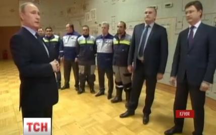 Запуск Путиным энергомоста в Крым может оказаться фейком