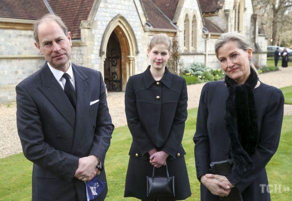 Принц Эдвард, графиня Уэссекская Софи, леди Луиза Виндзор / © Associated Press