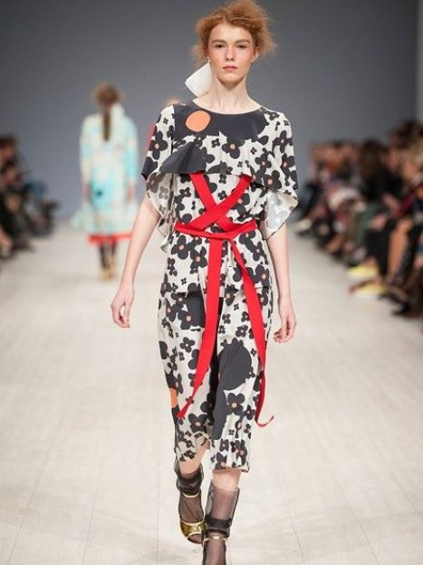 Показ POUSTOVIT SS16 / © fashionweek.ua