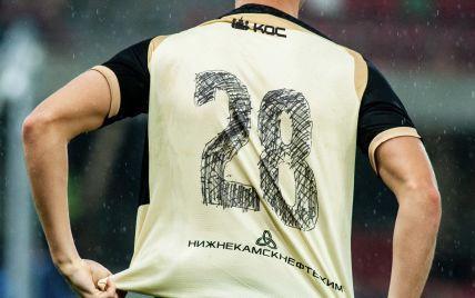 Нарисовали номера маркером: российский клуб сконфузился во время матча еврокубков