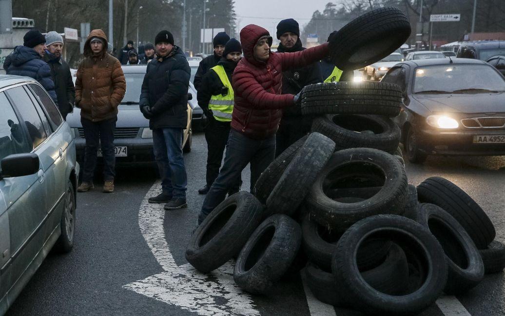 Фото з місця протесту / © Reuters