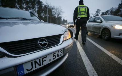 Власники авто на іноземній реєстрації знову протестують у центрі Києва