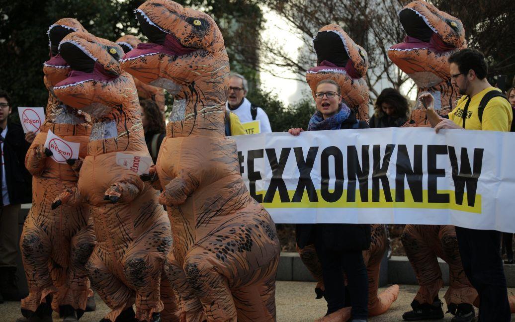 Фото з акції протесту / © Reuters