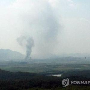 На границе между Кореями прогремел взрыв