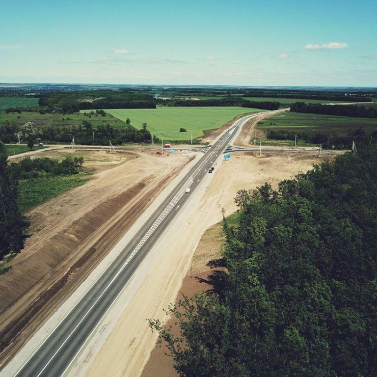 В Україні вперше за 5 років побудували нову дорогу