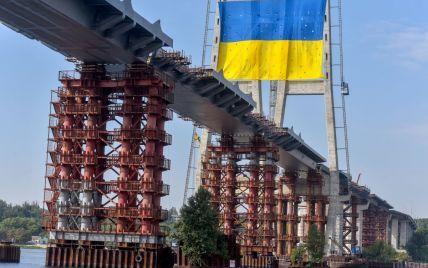 """В """"Укравтодорі"""" пообіцяли до кінця року у Запоріжжі запустити повноцінний рух вантовим мостом через Дніпро"""