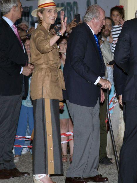 Принцеса Олена і король Хуан Карлос I / © Getty Images