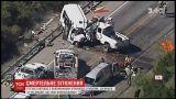 В Техасе автобус с паломниками столкнулся с пикапом, есть погибшие