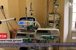 """Новини України: лікарі львівського """"Охмадиту"""" рятують 7-річну дівчинку, в якої діагностували правець"""