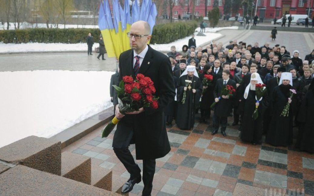 Прем'єр Арсеній Яценюк / © УНІАН