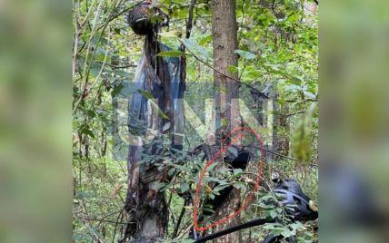 Під Києвом у лісі поблизу місця замаху на Шефіра знайшли труп: фото
