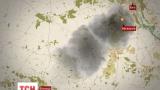Дымовое облако от горящей нефтебазы движется в направлении Винницы и Хмельницкого