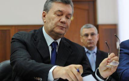 """Янукович """"не помнит"""" телефонных разговоров с Путиным во время самых ожесточенных боев на Майдане"""