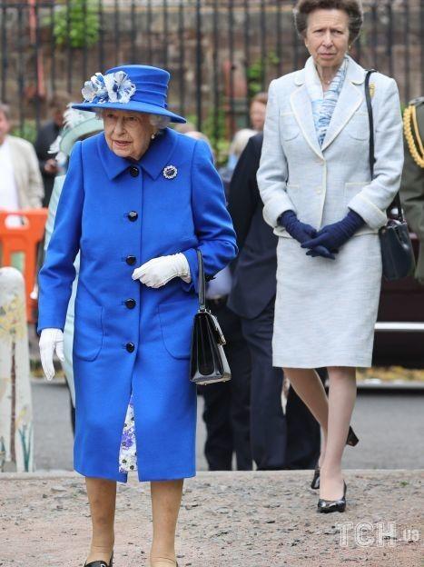Королева Єлизавета II і принцеса Анна / © Getty Images