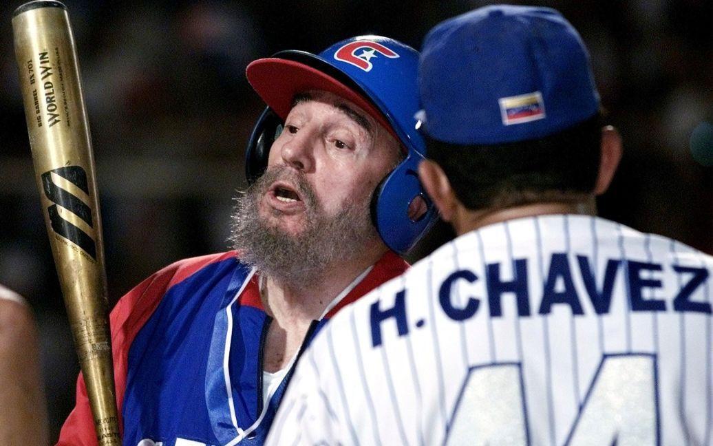 Кастро нередко играл в бейсбол / © Reuters