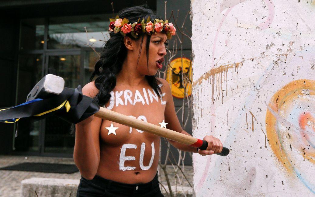 Акция Femen в Киеве / © Reuters