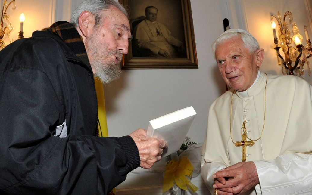 С папой римским / © Reuters