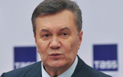 Янукович поблагодарил спонсоров Донбасса и заявил, что не финансирует ОРДЛО