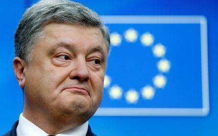 Порошенко надеется, что Европарламент одобрит безвиз для Украины