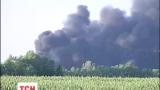 Нефтебаза под Киевом уже вторые сутки горит