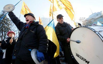 Профспілки скасували масштабну акцію протесту під парламентом