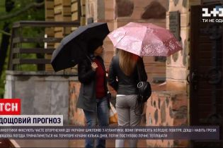 Погода в Украине: синоптики прогнозируют дожди с грозами, а в Карпатах может выпасть снег