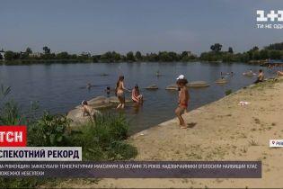 Новости Украины: в Ровенской области установили рекордную жару за последние 75 лет