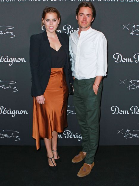 Принцеса Беатріс і Едоардо Мопеллі Моцці / © Getty Images
