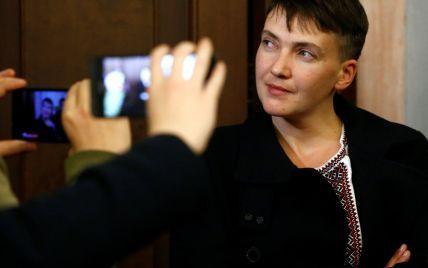 Савченко відмовилась від депутатської недоторканності