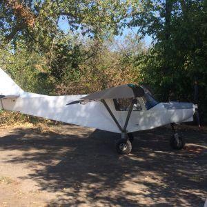 У жителя Черкаської області вилучили літак, на якому він перевозив контрабандні цигарки