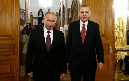 """""""Турецький потік"""": Ердоган заявив про відновлення співпраці з Росією"""