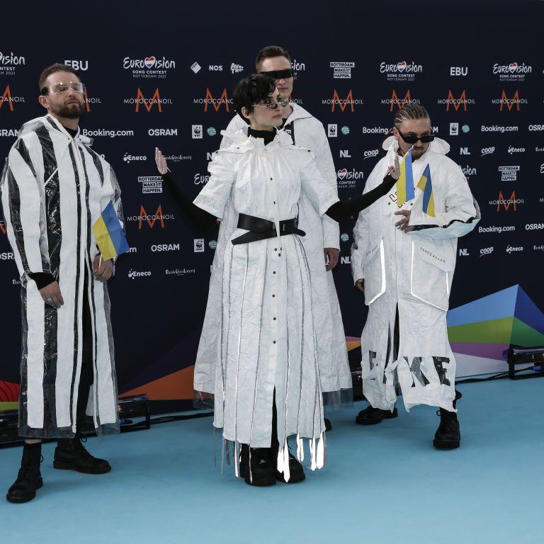 """""""Евровидение-2021"""": на церемонии открытия Go_A появился в костюмах из переработанного пластика"""