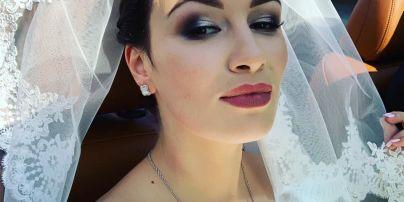 Співачка Анастасія Приходько обвінчалася з чоловіком