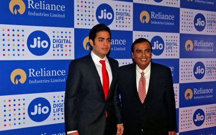 Самый богатый человек Индии запустил бесплатный 4G интернет для миллиарда соотечественников