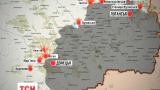 В районе Донецка боевики продолжили обстреливать украинские позиции