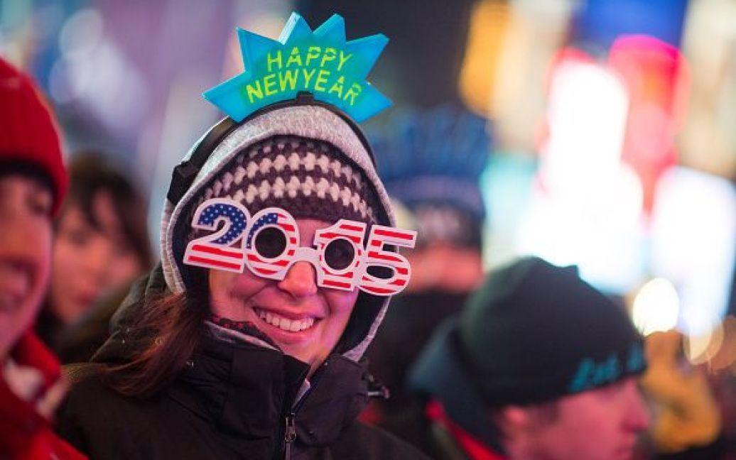 Святкування Нового року у Нью-Йорку. / © Getty Images