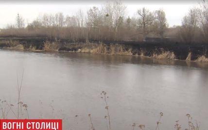 Киевщина в огне: 100 пожаров за три дня, пепелище на 20 гектарах