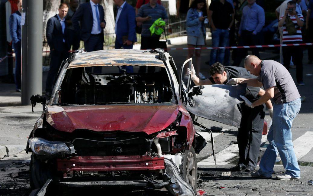 Фото с места взрыва / © Reuters