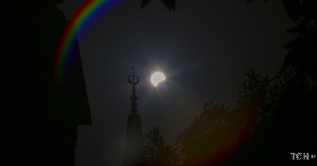 солнечное затмение / © Associated Press