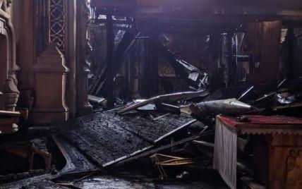 Пожежа в костелі Святого Миколая пошкодила унікальний орган: хто платитиме за його відновлення