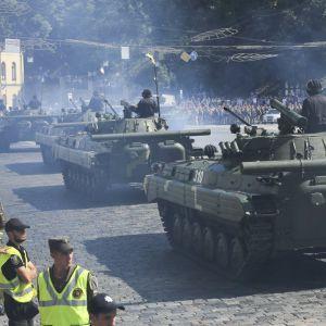 Військовий парад, політ авіації та концерт: як Київ святкуватиме День Незалежності