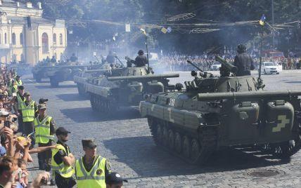 Военный парад, полет авиации и концерт: как Киев будет праздновать День Независимости