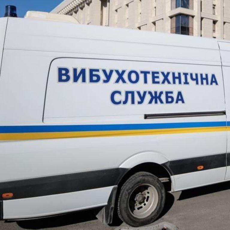 """В правительственном квартале Киева полиция ищет взрывчатку и устанавливает личность """"минера"""""""
