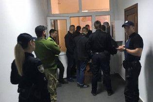 В Киеве неизвестные ворвались в здание Госгеонедр и захватили кабинет председателя службы