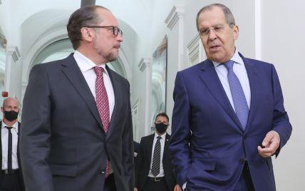 Глава МИД Австрии отказался от приглашения Лаврова посетить оккупированный Крым