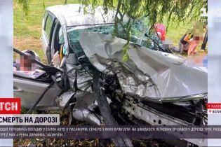 Новини України: на Волині сталося смертельне ДТП за участю авто з 11 пасажирами
