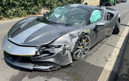 В Італії розбили найшвидший та найдорожчий суперкар Ferrari