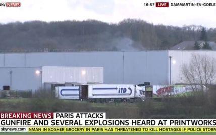 Спецназ пішов на штурм приміщення, де засіли терористи з Charlie Hebdo. Лунають вибухи