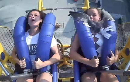 На атракціоні в США чайка врізалася в дівчину на швидкості 120 км/год (відео)
